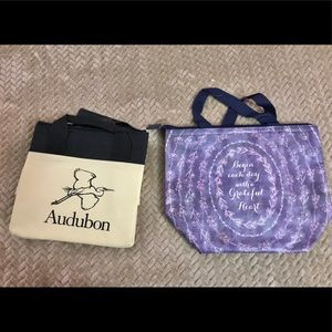 2 new lunch bags
